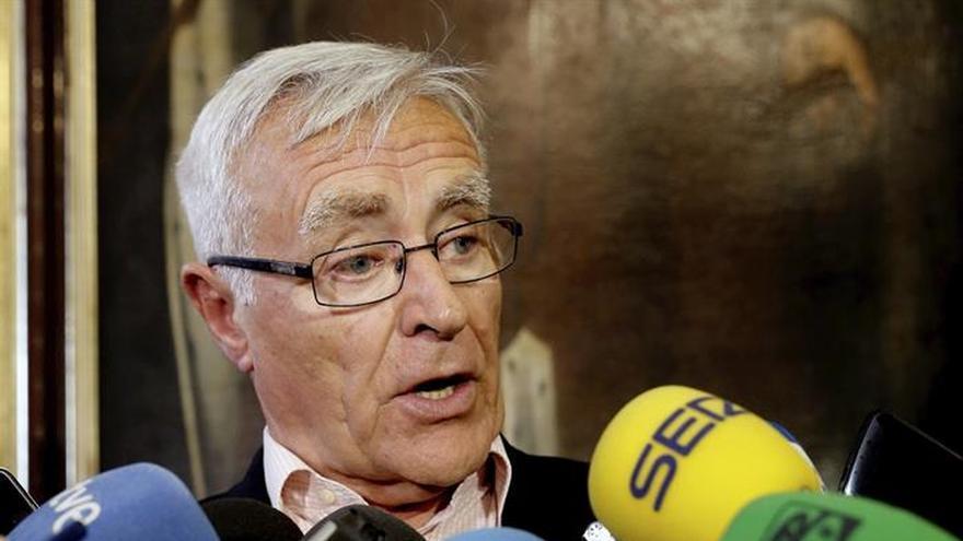 Ribó pide la dimisión de Barberá y que Rajoy acabe con blindaje de senadora