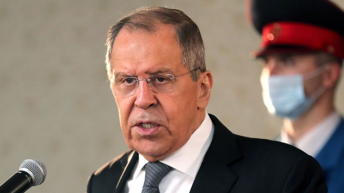 El ministro ruso de Asuntos Exteriores, Serguéi Lavrov. EFE/EPA/FEHIM DEMIR/Archivo