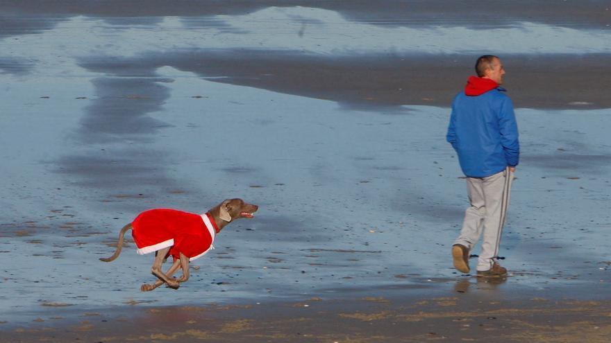 Una masa de aire polar propiciará descenso brusco de temperaturas en Navidad
