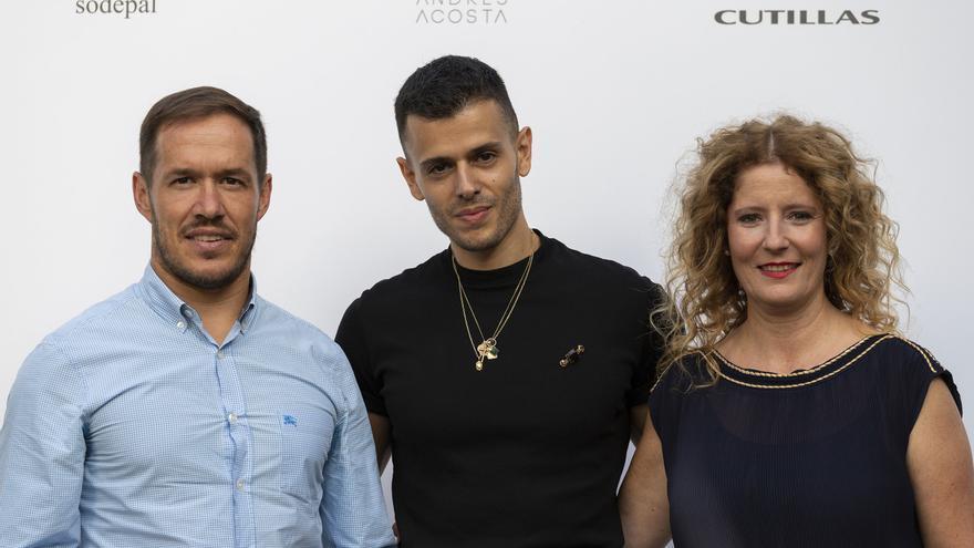 Mariano H. Zapata, Andrés Acosta y Raquel Díaz.