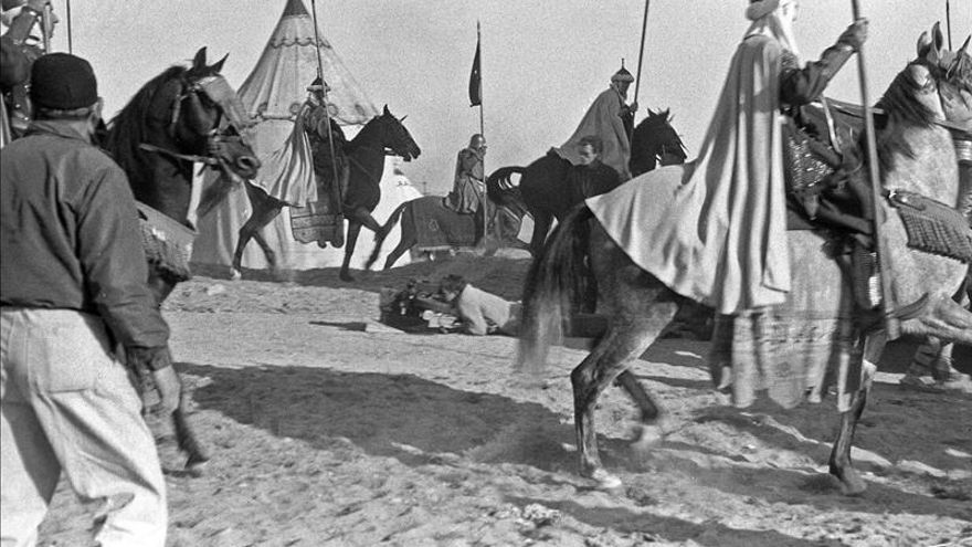 """Cien pesetas y un bocata de chorizo cobraron los extras de Mann en """"El Cid"""""""