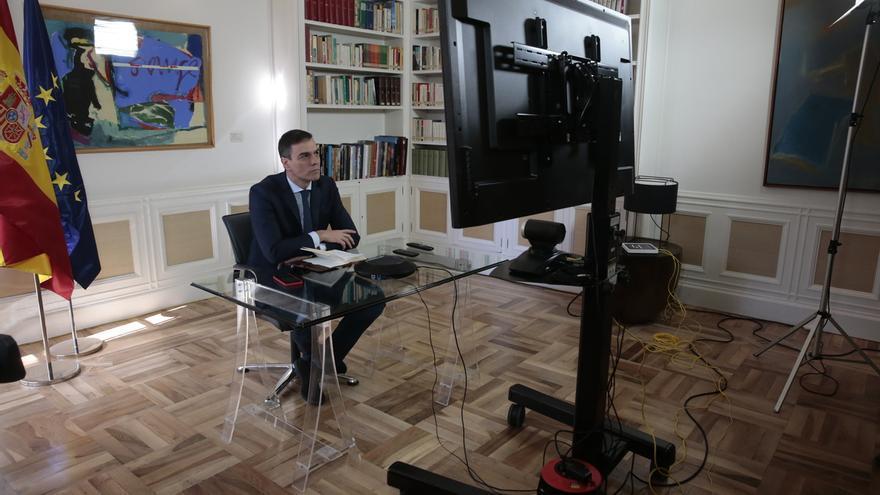 Todos los presidentes autonómicos participan en la videoconferencia con Sánchez