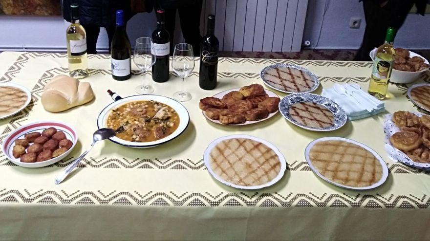 Varios de los platos que podrán degustarse en El Provencio (Cuenca) el 31 de marzo