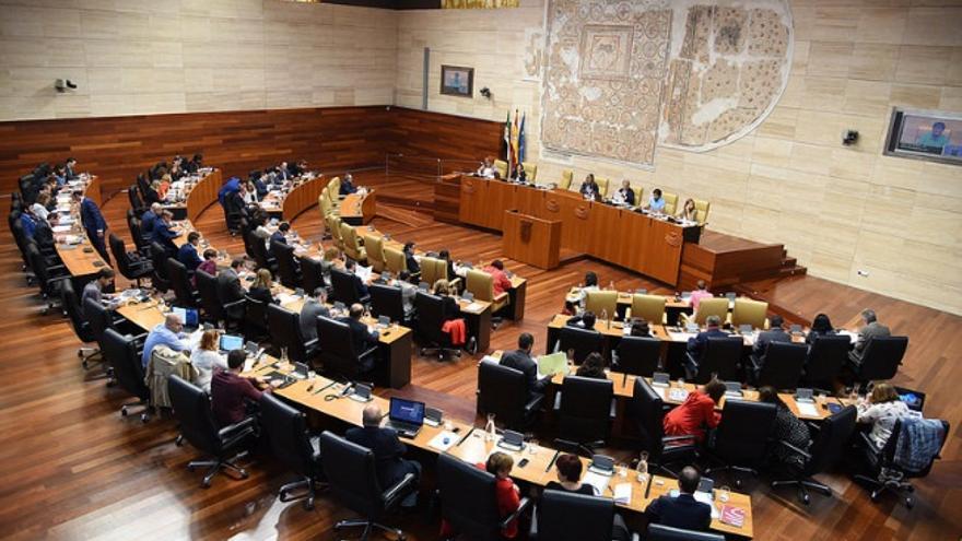 Pleno de la Asamblea de Extremadura / Asamblea