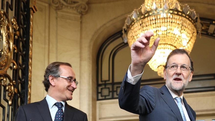 """Alfonso Alonso cree que Rajoy """"va ganando confianza día a día"""" y acusa a Sánchez de buscar terceras elecciones"""