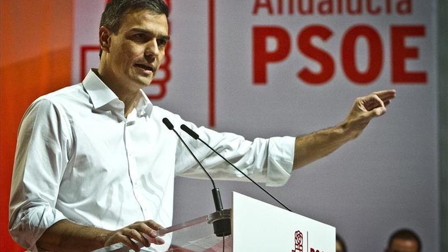 """Pedro Sánchez: """"La patria del PSOE es la igualdad"""""""