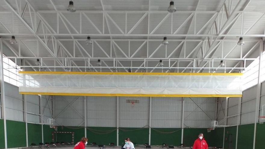 Acondicionamiento del polideportivo Jorge Juan de Albacete