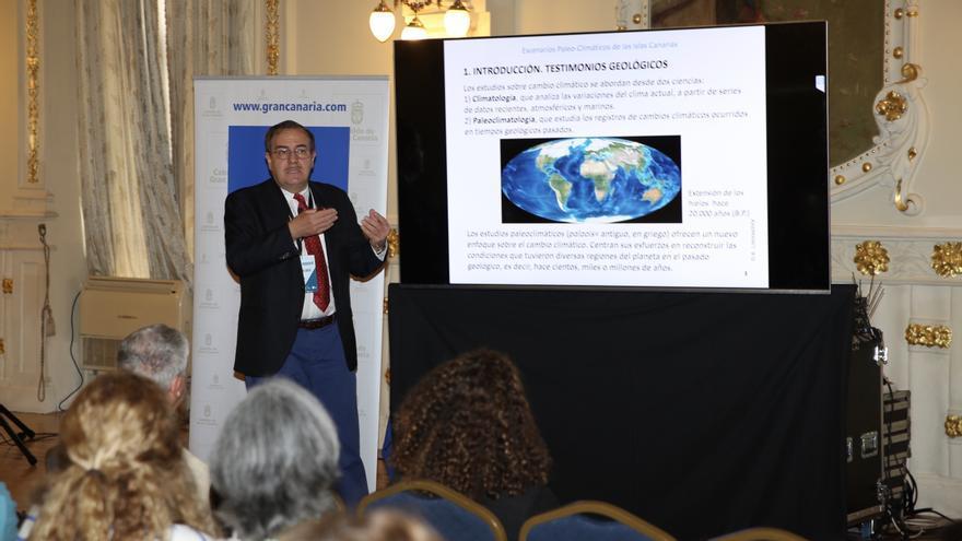 Alejandro Lomoschitz, doctor en Geología e investigador del Instituto de Oceanografía y Cambio Global de la ULPGC.