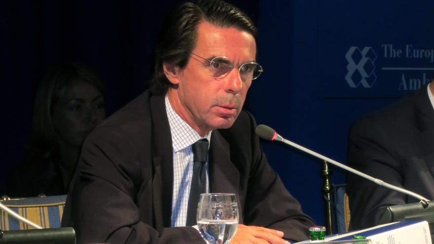 """Aznar asegura que España """"saldrá adelante con voluntad y valentía, haciendo reformas y tomando la iniciativa"""""""