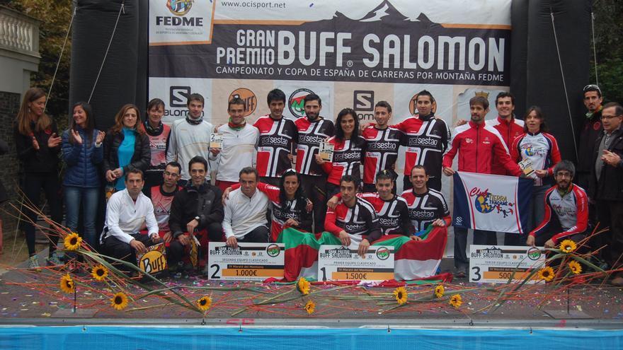 El Sestao Alpino - GrafSestao revalida el título de campeón de España de clubes FEDME (© Ocisport).