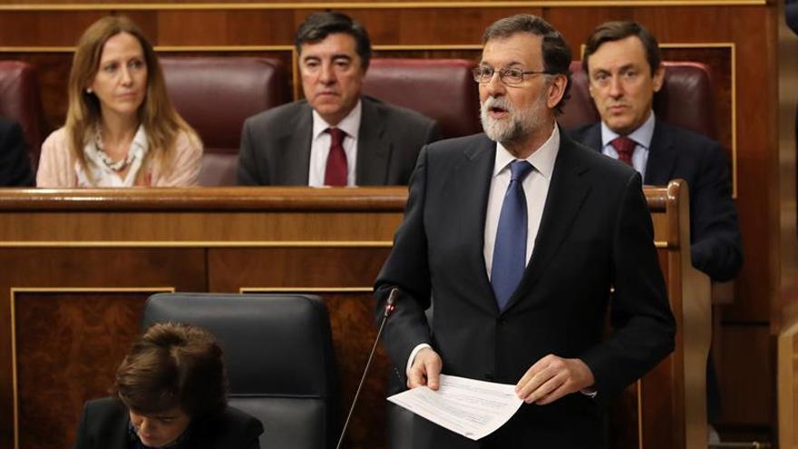 Rajoy remite a ERC a la Justicia ante petición de trasladar presos a Cataluña