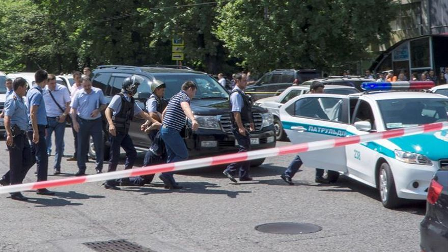 "Kazajistán dice que el asesino de Almaty actuó ""por venganza"""