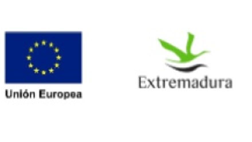 Logos institucionales de Extremadura