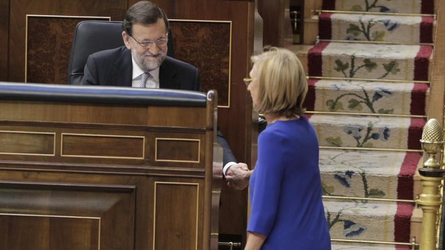 Rosa Díez reta a Rajoy a aclarar en el Congreso cómo piensa recuperar el dinero del rescate bancario