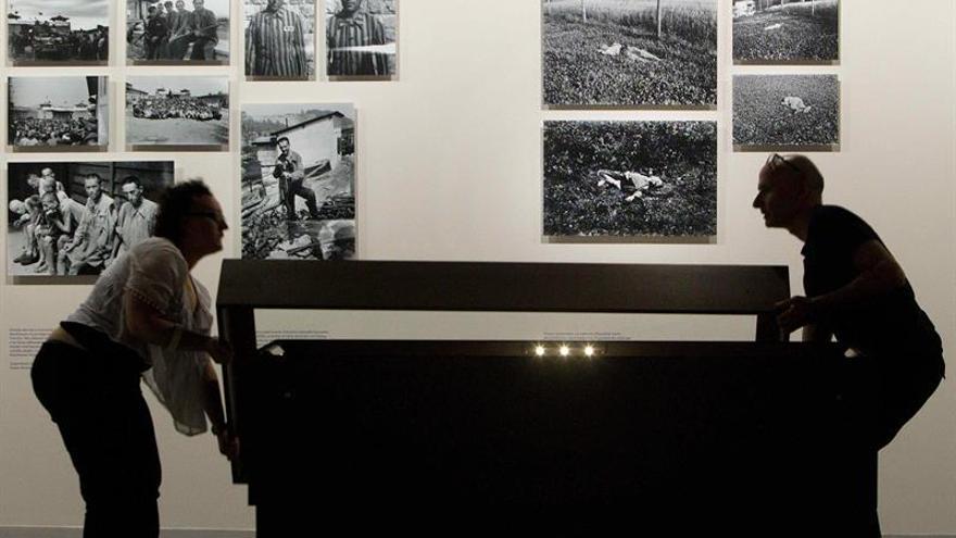 Un libro reúne las fotografías de un joven Francesc Boix sobre la guerra