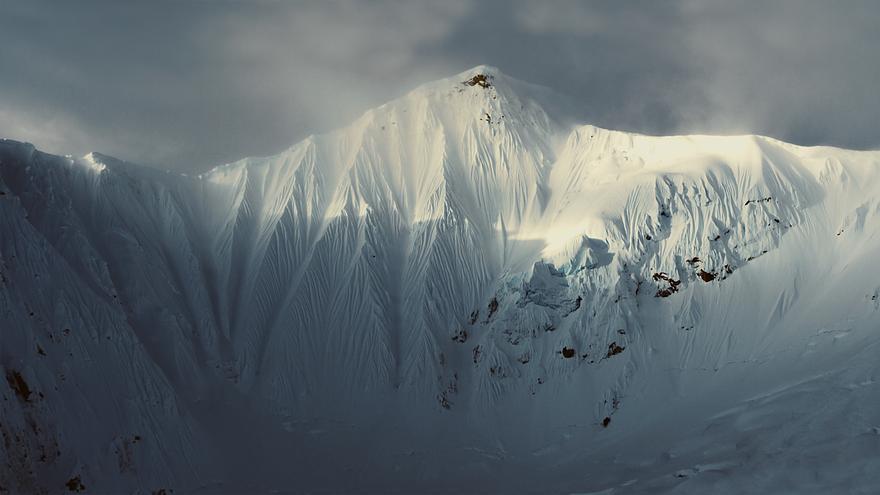 Glaciar Tsirku, Alaska.