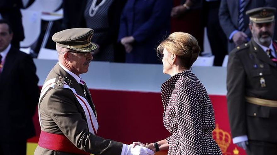 Cospedal cree que no será necesaria la intervención militar en Cataluña