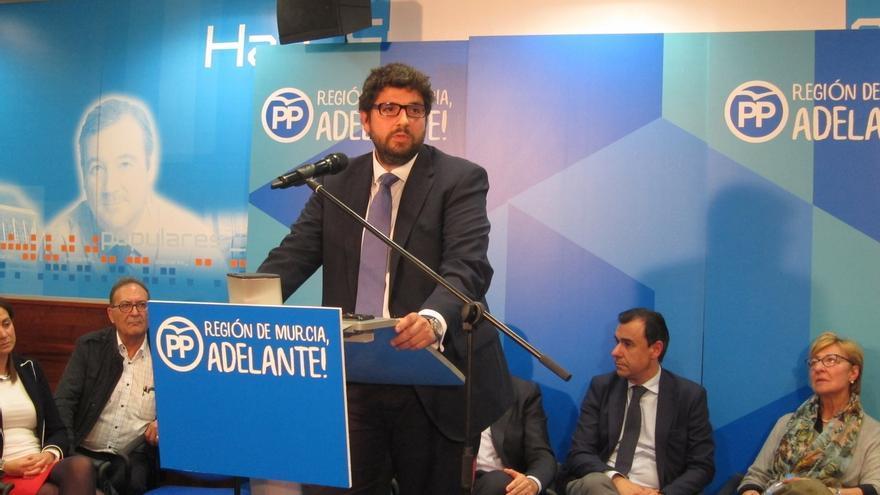 La presidenta de la Asamblea propone a Fernando López Miras (PP) como candidato para presidir Murcia