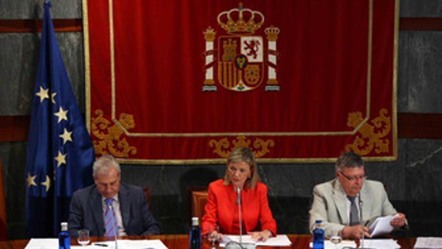 Gabriela Bravo presenta un informe del CGPJ