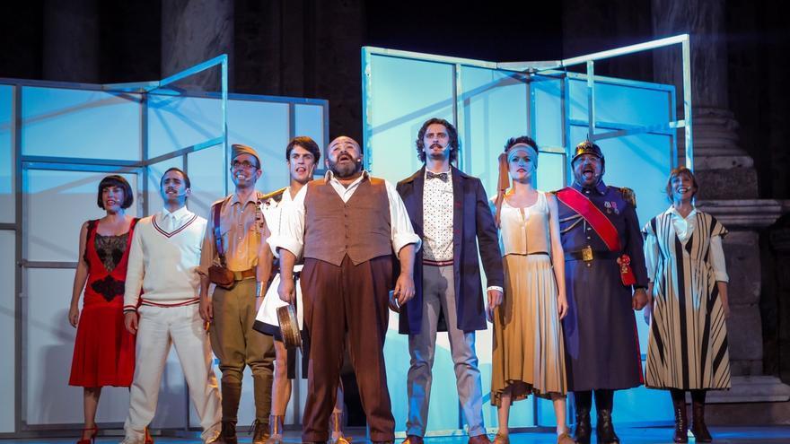 'El Eunuco', con Pepón Nieto, Anabel Alonso y Alejo Sauras, el viernes y sábado en el Palacio de Festivales
