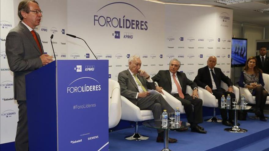 El vicepresidente de Brasil pide más intercambio de inversiones con España