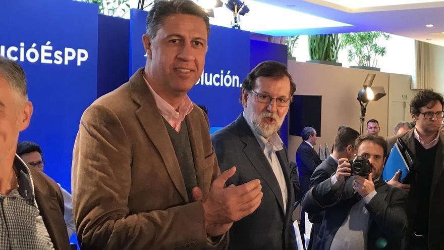 """Rajoy y Albiol alertan del ataque a una vivienda """"por tener la bandera española"""""""