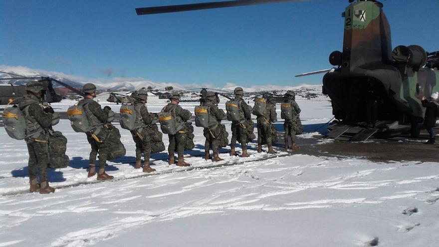 Una brigada de paracaidistas del Ejército de Tierra.