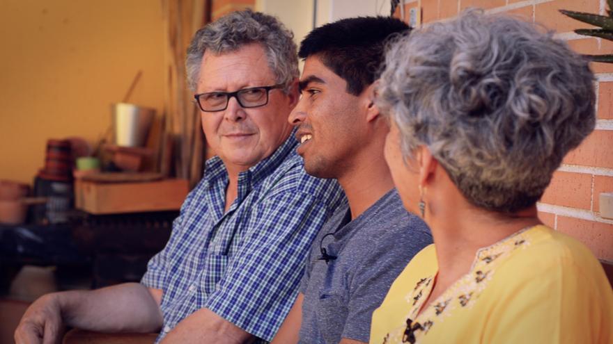 Patxi, Naveed y María comparten lo aprendido con la experiencia de la acogida