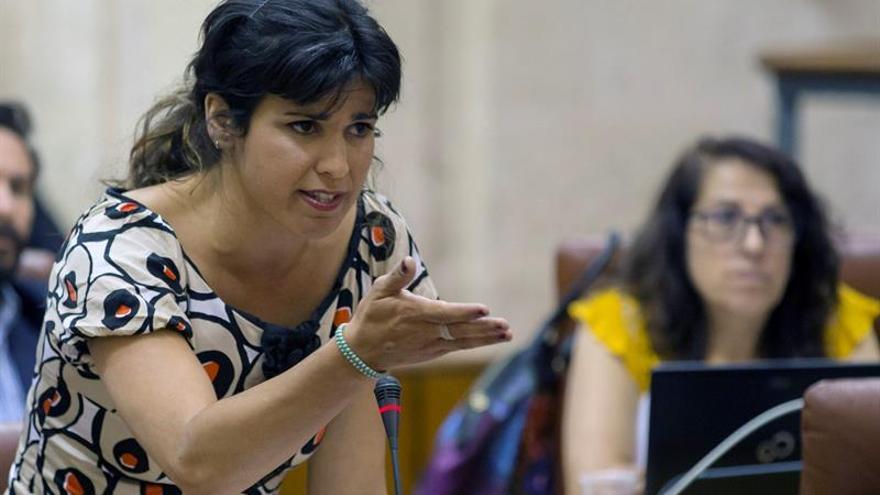 """Teresa Rodríguez pide al PSOE que no use a Bódalo para """"hacer daño"""" a Podemos"""