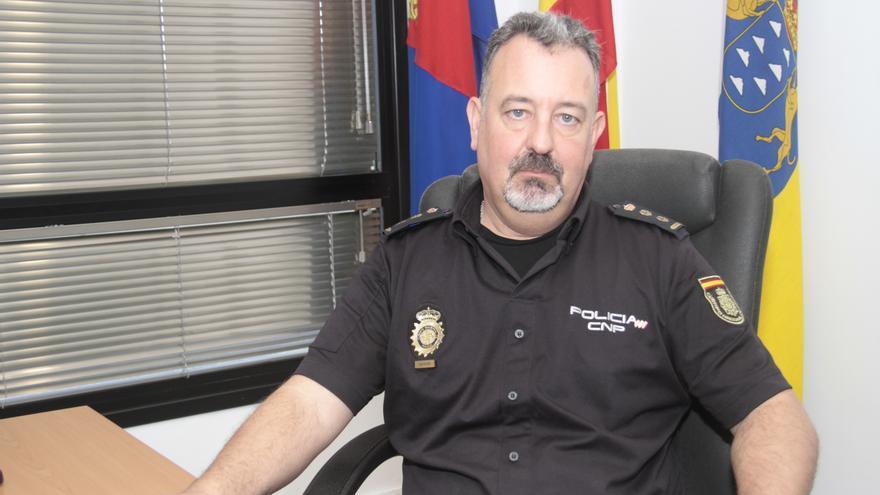El excomisario de la Policía Nacional de Arrecife Luis Mayandía