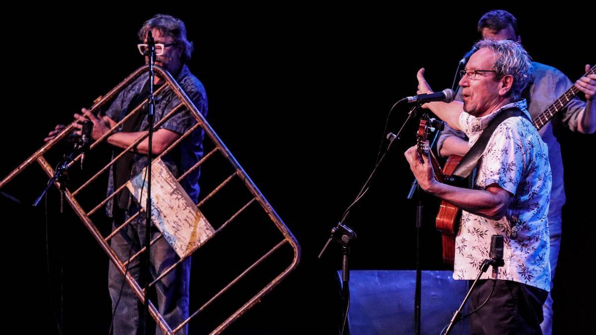 Eliseo Parra en la primera edición del Folkfest