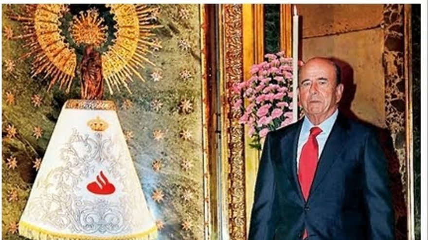 La octavilla que denunciaba el patrocinio del Santander de la Virgen del Pilar