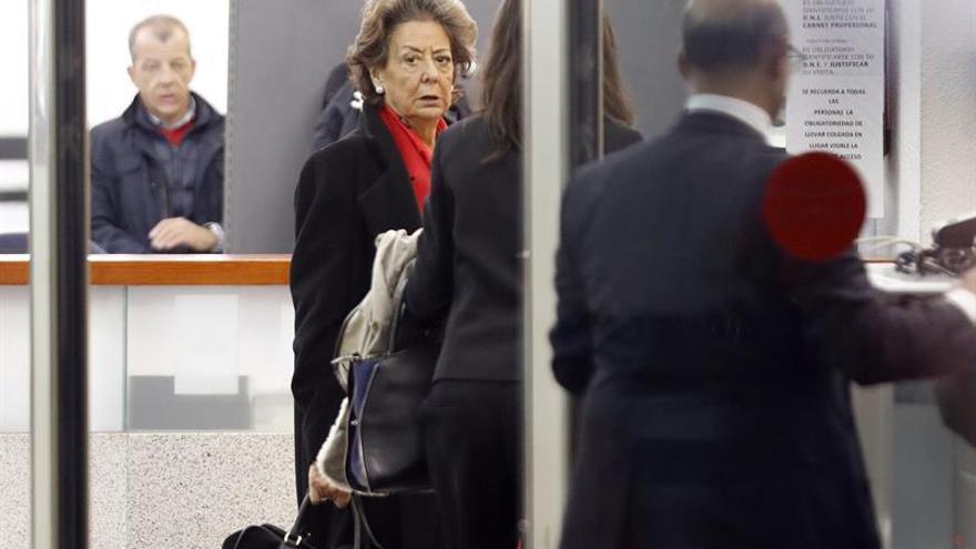 La comparecencia ante el Supremo último acto público de Rita Barberá