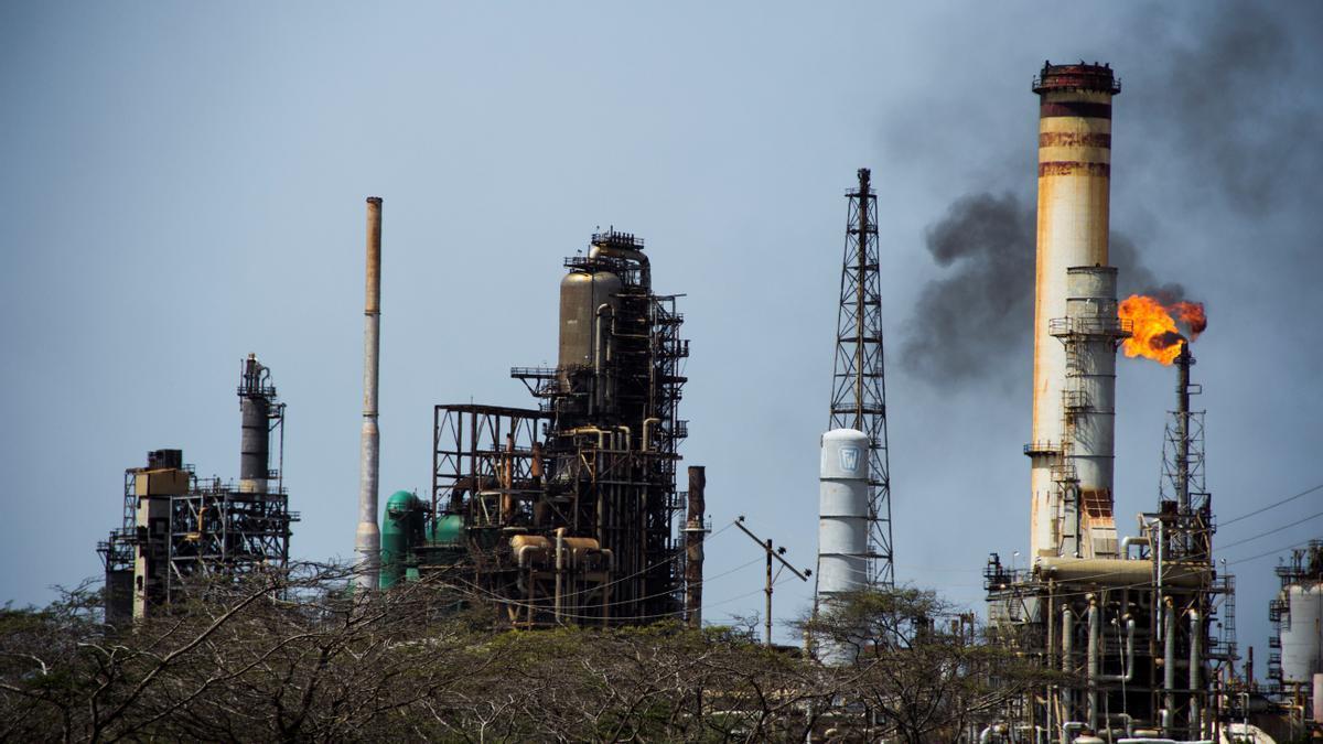 Instalaciones petroleras en Arabia Saudí.