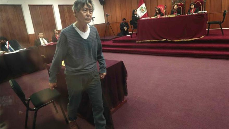 Se suspende juicio a Fujimori, quien mañana será trasladado a un hospital