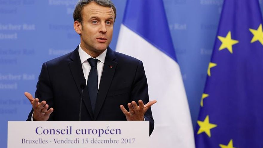 Macron cree que la derrota del EI en Siria llegará en febrero
