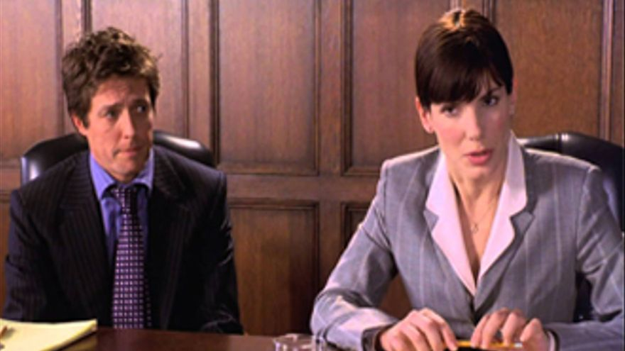 El 'Amor con preaviso' de Sandra Bullock y Hugh Grant brilla en Nova
