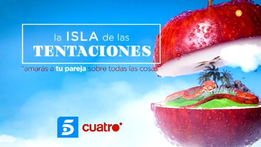 'La isla de las tentaciones' en Telecinco y Cuatro