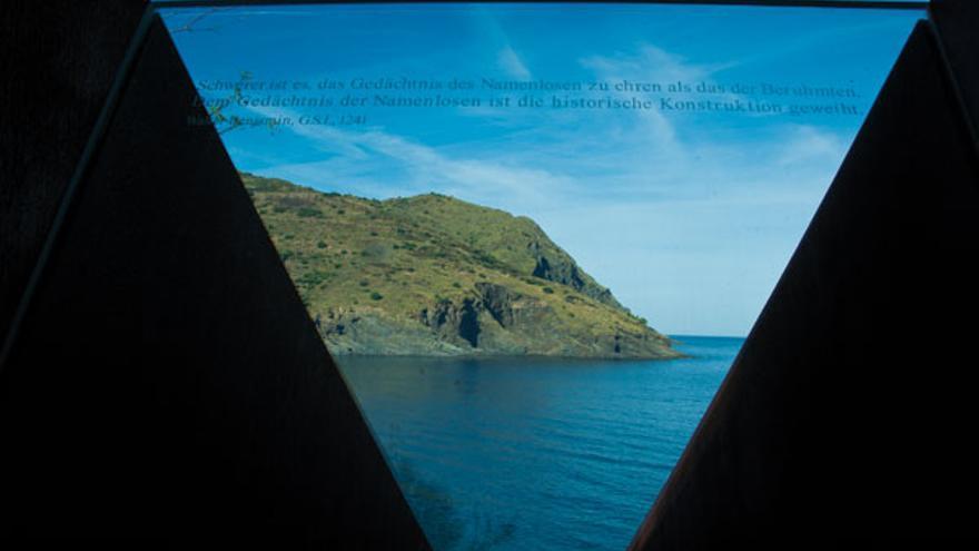 Memorial Passaget de Port Bou en homenaje a Walter Benjamin