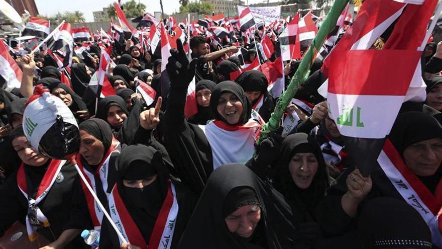 Muqtada al Sadr insta a sus seguidores a abandonar las protestas por el nuevo Gobierno