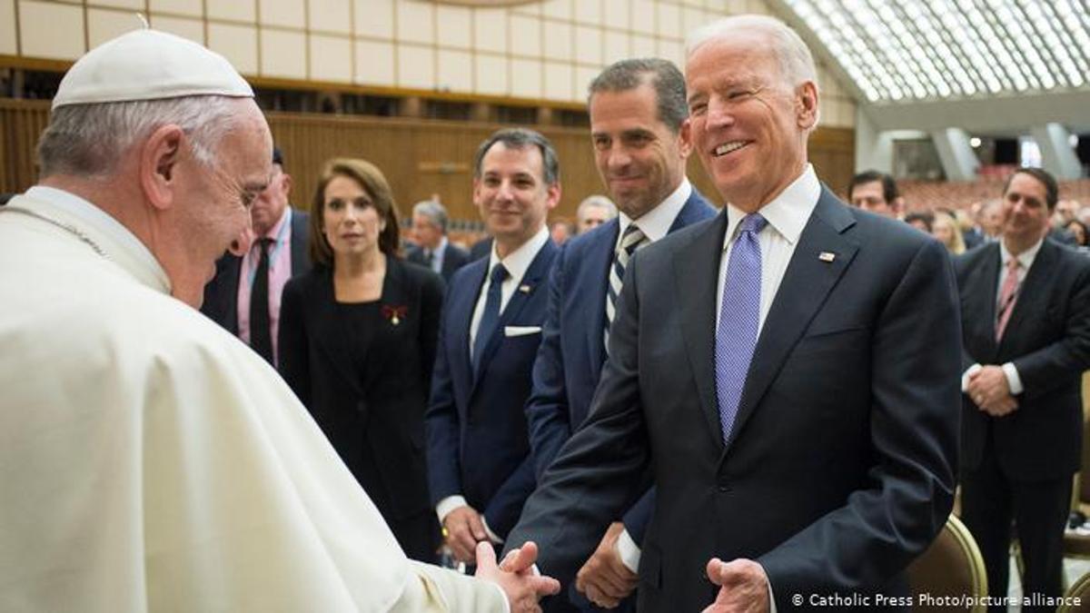 Biden, con el Papa Francisco