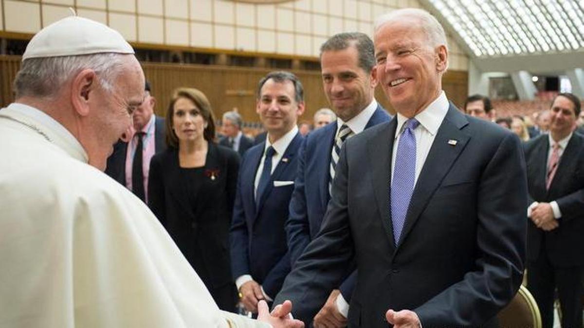 Biden, con el Papa Francisco /Catholicpressphoto