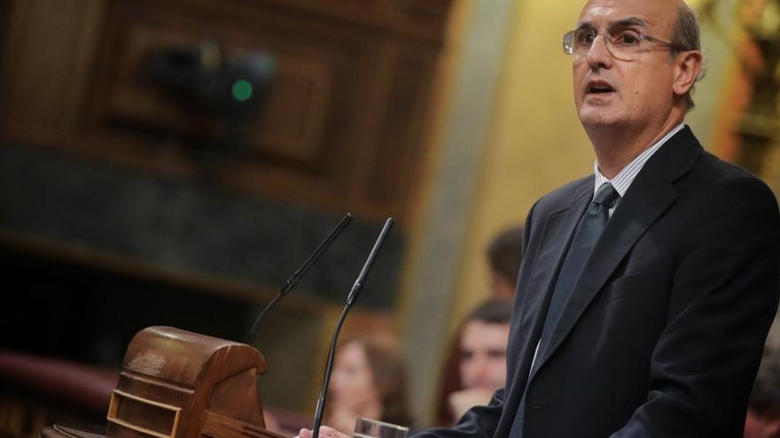 """Celso Delgado (PP), exponiendo el """"no"""" a la investigación"""