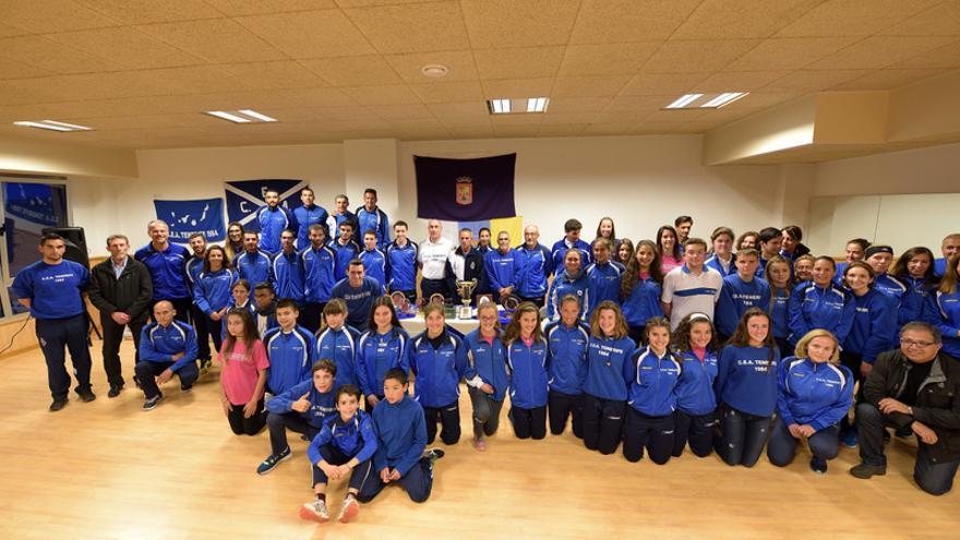 El Club Escuela de Atletismo Tenerife 1984 clausura su temporada de invierno
