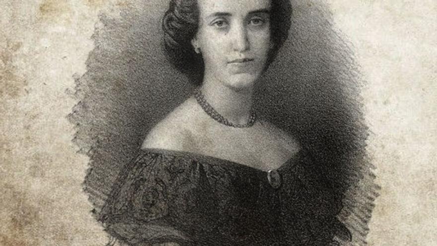 Victorina Bridoux y Mazzini, hija de Ángela Mazzini.