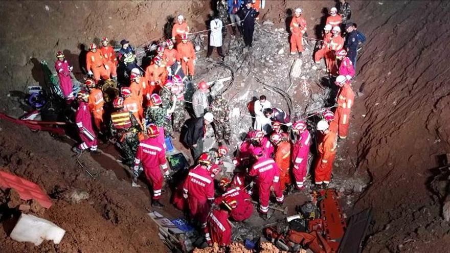 """La Fiscalía china investigará """"sospechas de malas prácticas"""" en alud de Shenzen"""