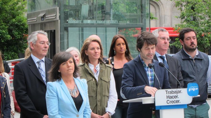 """Quiroga (PP) pide que se elija entre un Bilbao """"cosmopolita"""" o una ciudad al servicio """"de la Euskadi-nación"""""""