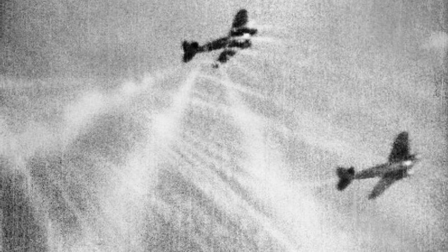 Lucas quería recrear los combates aéreos de la II Guerra Mundial