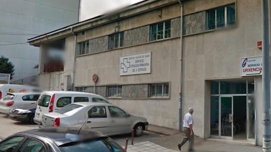 Centro de salud de A Estrada (Pontevedra) en el que se encuentra el Punto de Atención Continuada (PAC)