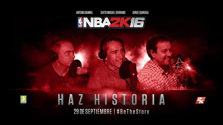 Comentaristas NBA 2K16